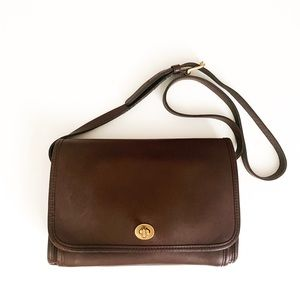 Vintage Coach 9812 Ridgefield brown mahogany bag
